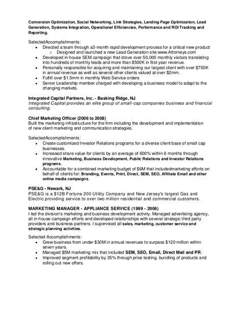 lead generation resume sle lead generation resume resume ideas