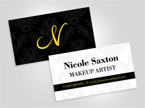 Artist Business Card Exles