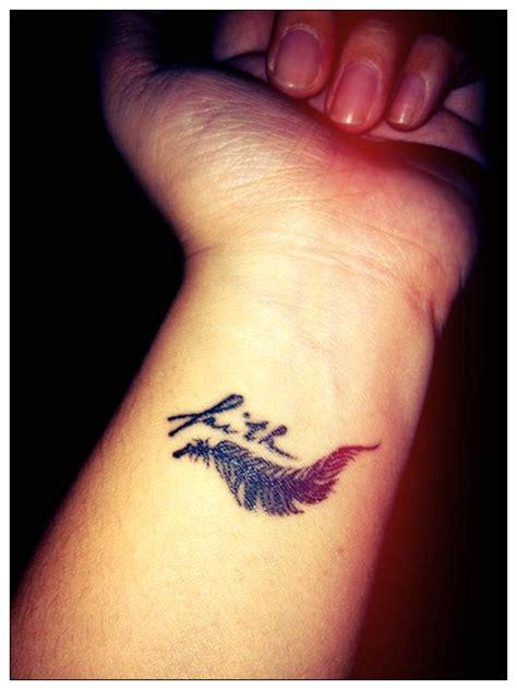 feather tattoo side of hand faith tattoos on hand lifestyles ideas
