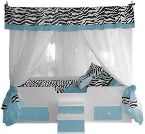 canopy bedding zebra canopy bed with bedding blue princess canopy beds
