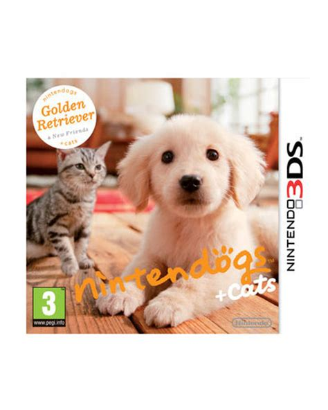 nintendogs golden retriever ds nintendogs cats golden retriever y nuevos amigos nintendo 3ds de nintendo ds en
