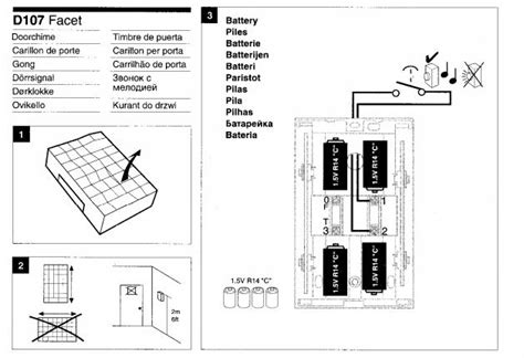 friedland d107 doorbell wiring diagram