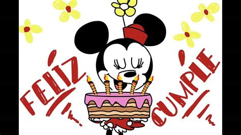 imagenes cumpleaños minnie feliz cumplea 241 os ft minnie mouse youtube