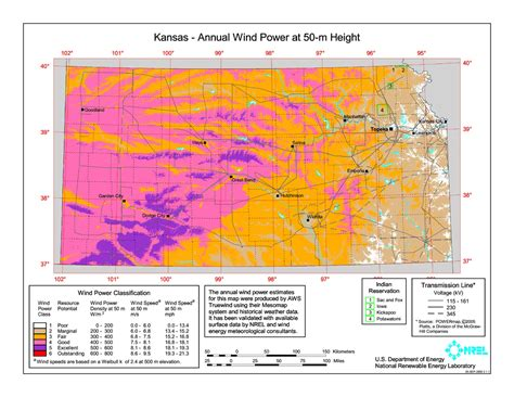 Ks Also Search For File Kansas Wind Resource Map 50m 800 Jpg Wikimedia Commons