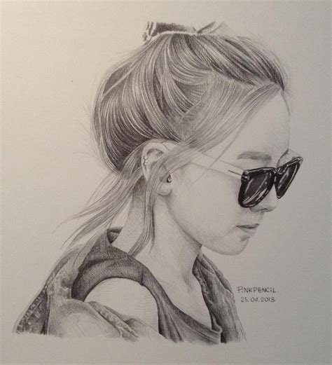 Taeyeon Sketch taeyeon by sleepy on deviantart
