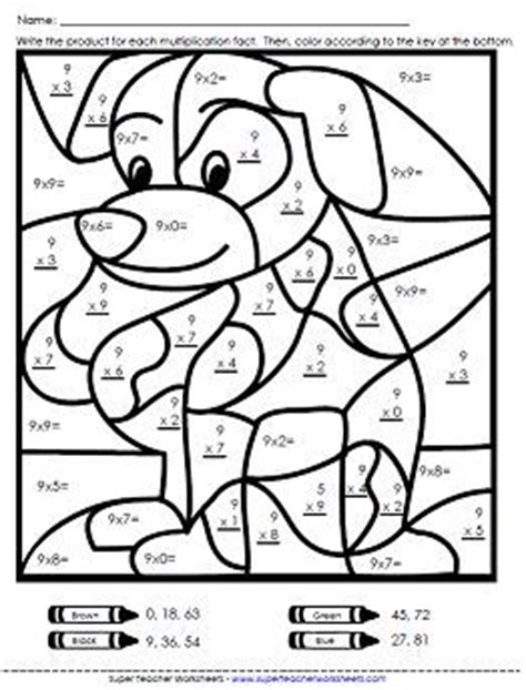 Multiplication Colouring Sheets Ks2 Multiplication Color Free Colouring Sheets Ks2