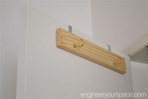 the door hanger diy the door ladder holder smart diy solutions for renters