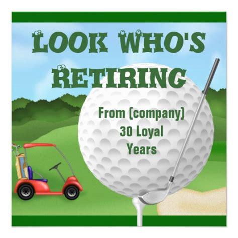 40th birthday ideas free golf birthday invitation templates