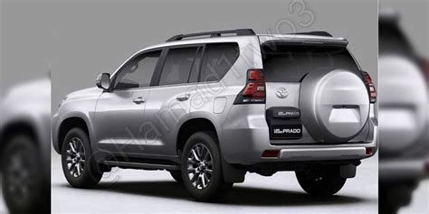 toyota prado facelift leaked update