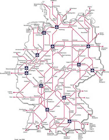 Germany Train Map by German Railway Map Related Keywords Amp Suggestions German