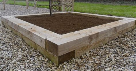 Railway Sleepers New by Fencing Essentials New Softwood Railway Sleepers Uc4