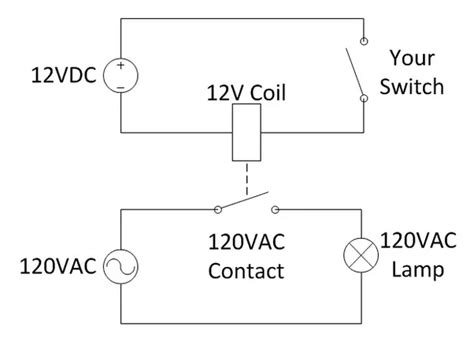 interposing relay wiring diagram current relay diagram