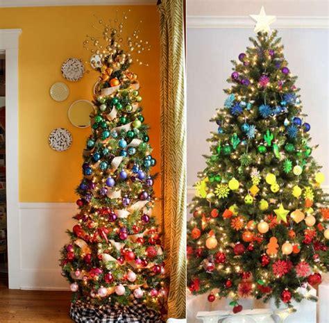 decorare alberi di natale decorare l albero di natale modo originale