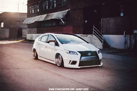 stanced toyota image gallery stanced prius