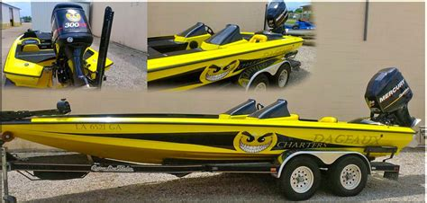 big boat decals big daddy wrap boat wraps marine sticker decal business