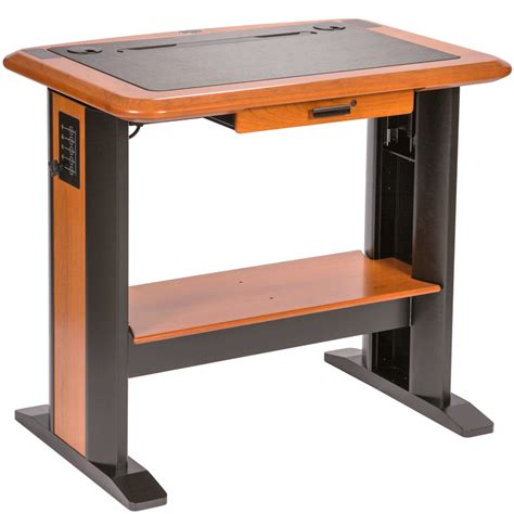 Workspace 45 X 32 Standing Computer Desk 1 Is A Small Small Stand Up Desk