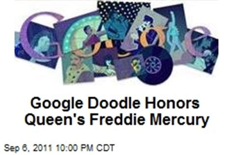 doodle do fred mercury freddie mercury news stories about freddie mercury