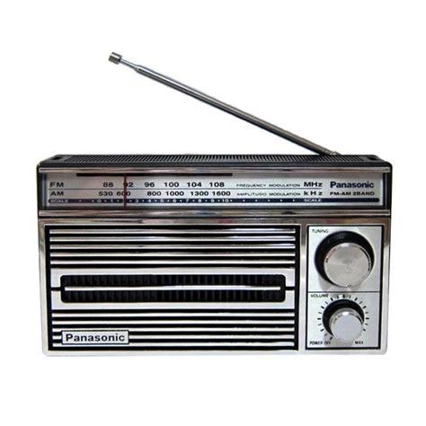 Radio Panasonic Rf 5270 Rf 2750 jual panasonic rf 5270 am and fm radio player harga kualitas terjamin blibli