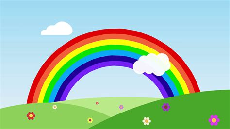 wallpaper rainbow cartoon rainbow cartoon choice image wallpaper and free download