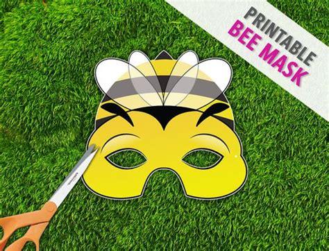 bug masks for templates bumble bee printable mask photo prop bug mask