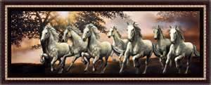seven horses