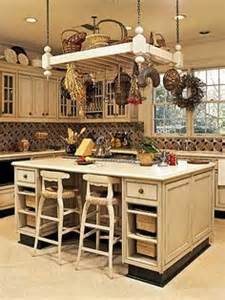 kitchen island with hanging pot rack 1000 images about kitchen islands on pinterest kitchen