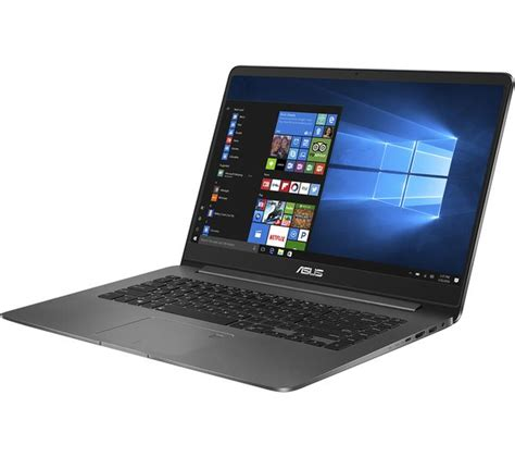 Is Asus Zenbook A Laptop buy asus zenbook ux530 15 6 quot laptop grey free delivery currys