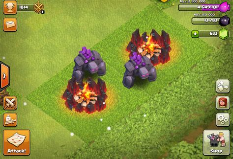 Golem Clash Of Clans clash of clans golem lvl 5 www imgkid the image