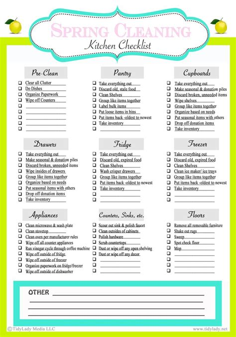 printable organizing checklists weekly meal plan plus pantry clean out tips cleaning