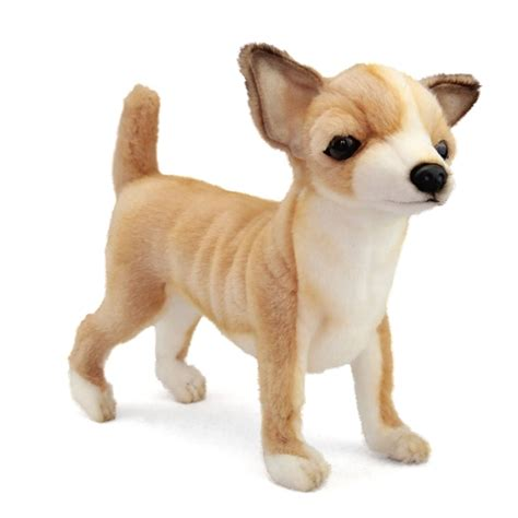 puppy plushie handcrafted 11 inch lifelike stuffed chihuahua puppy by hansa