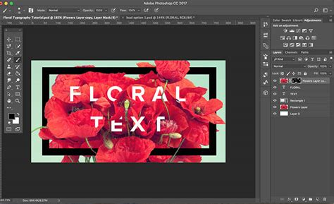 flower typography photoshop tutorial create stunning floral typography with photoshop