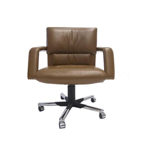 Mario Bellini For Vitra Leather Swivel And Tilt Executive Vitra Office Desk