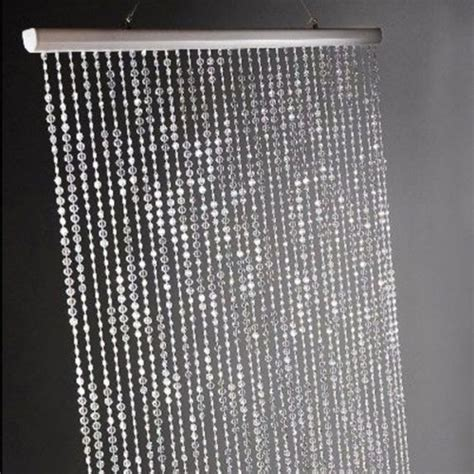 crystal door curtain clear acrylic crystal beaded curtain wedding bridal party