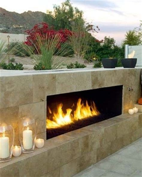 Az Fireplaces by Outdoor Fireplace Gas Fueled Fireplace
