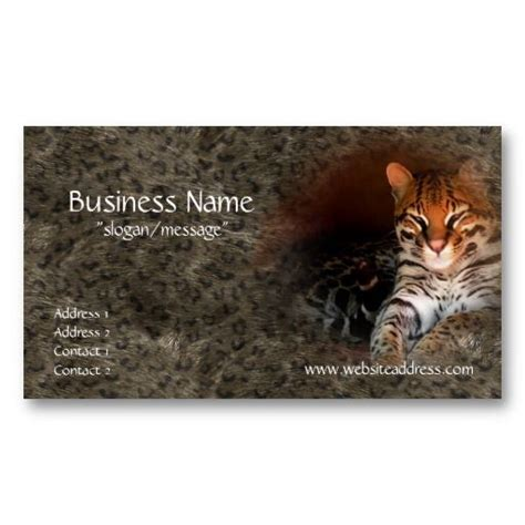 Animal Business Cards Templates by 17 Best Images About Business Cards Animal Non Pet On
