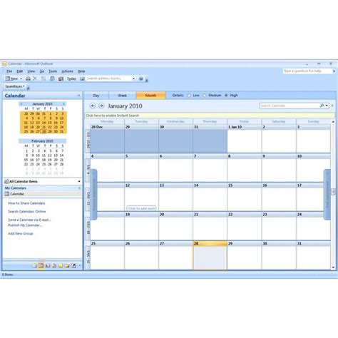 microsoft outlook calendar templates blank outlook calendar calendar template 2016