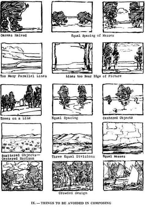 environment composition layout compositions for the outdoor painting edgar payne