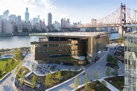 Cornell Tech Mba Facility by Cornell Tech The Bloomberg Center Arup