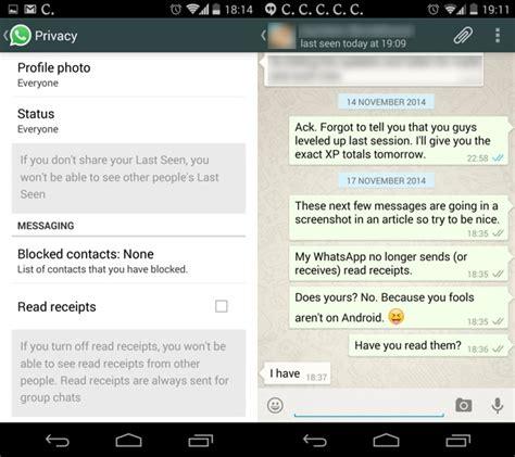 whatsapp s two blue ticks disabling read receipts