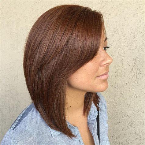 bob hair styles with long sides 60 inspiring long bob hairstyles and haircuts side bangs