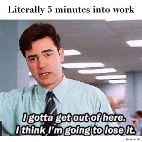 End Of Work Day Meme - 2424 memes that capture your work struggles quoteshumor