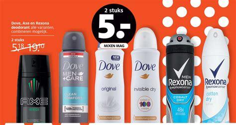 Deodorant Dove Rexona andrelon axe dove dove care prodent rexona en