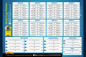 printable world cup 2014 wall chart uk images