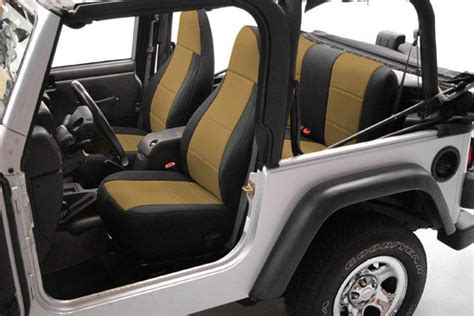 Best Seat Covers For Jeep Coverking Jeep Neoprene Seat Covers Best Price On
