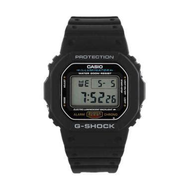 Jam Tangan Wanita Dw Paket Evy1781 05 jual casio g shock dw 5600e 1vdf jam tangan pria black