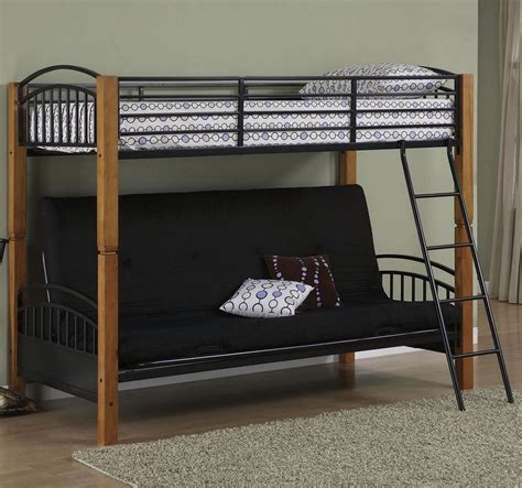 twin loft bunk bed with futon chair and desk bunk bed sofa for a greater room design and function
