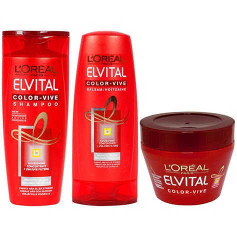 Sho L Oreal Color Vive l or 233 al elvital color vive trio eleven se