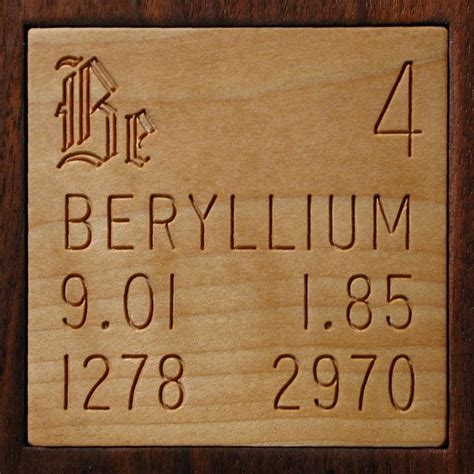 facts pictures stories about the element beryllium in