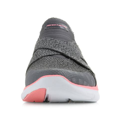 Skechers Flex Appeal womens skechers flex appeal 2 0 new image charcoal coral