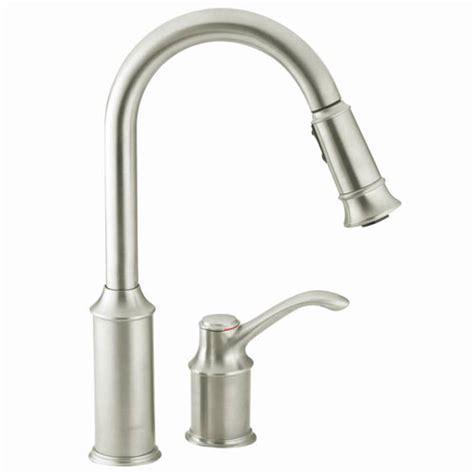 Moen 7590CSL Aberdeen Single Handle Pullout Kitchen Faucet